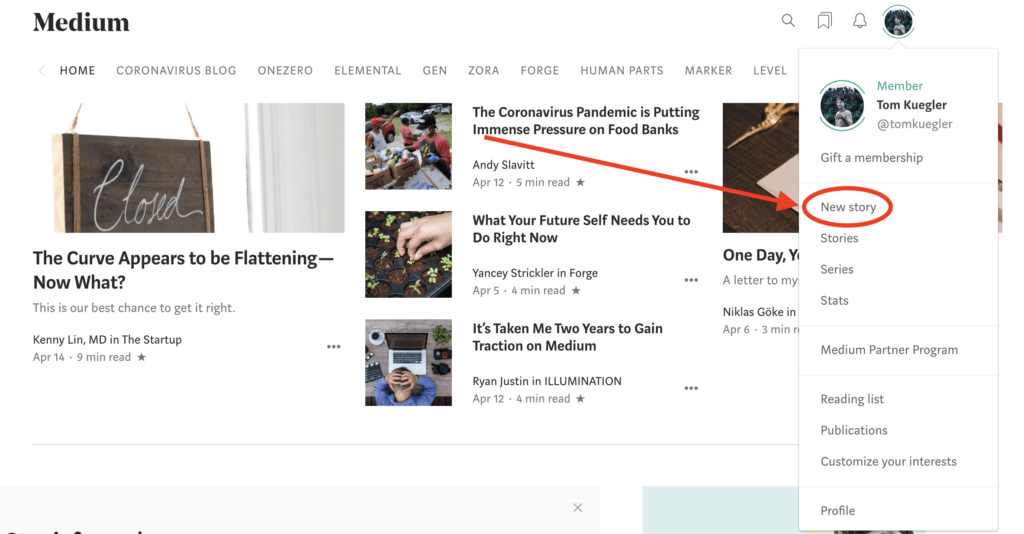 11th Article Image For What's Medium.com - How To Publish on Medium