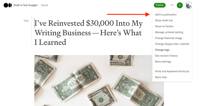 29th Article Image For What's Medium.com - Add To Medium Publication