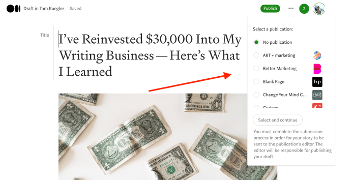 30th Article Image For What's Medium.com - Add To Medium Publication