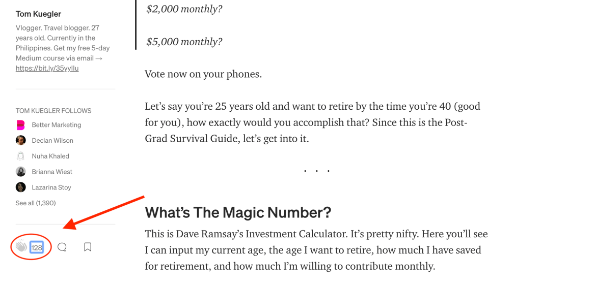 34th Article Image For What's Medium.com - How To Grow Followers On Medium